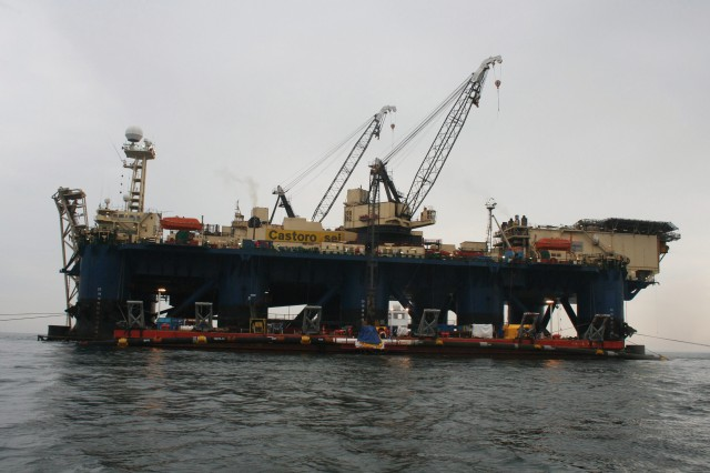 Nord Stream contracted the Italian company Saipem S.p.A. to lay the natural gas pipeline across the Baltic Sea. Two pipelay vessels will start laying operations in early 2010. Depending on weather conditions, the pipelay vessels can lay up to three kilometres of pipeline per day.