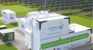 Smarte Batteriespeicherlösung auf Pellworm