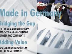 Deutsche Unternehmen unterstützen mt Produkten und Dienstleistung die afrikanische Wirtschaft.