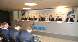 Gazprom informiert über Ölpreise und Gaspreise auf den Investorentagen in New York und London im Februar 2016.