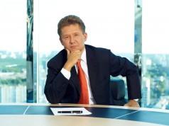 Alexej Miller lenkt Gazprom bis 2021.
