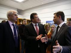 Sefcovic und Nowak diskutieren Winterpaket für die Ukraine und Gastransit.