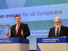Energiekommissar Canete lehnt zweite Ostseepipeline ab.