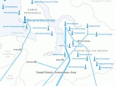 Gazprom will auf Jamal die Förderung ausbauen.