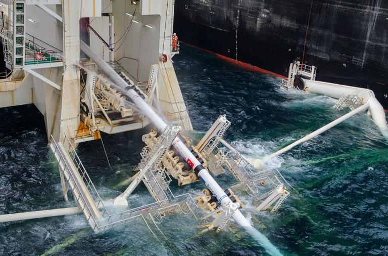 Erster Strang von Schwarzmeerpipeline ist verlegt