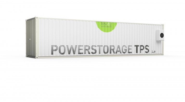 Neuer Megawatt-Containerspeicher