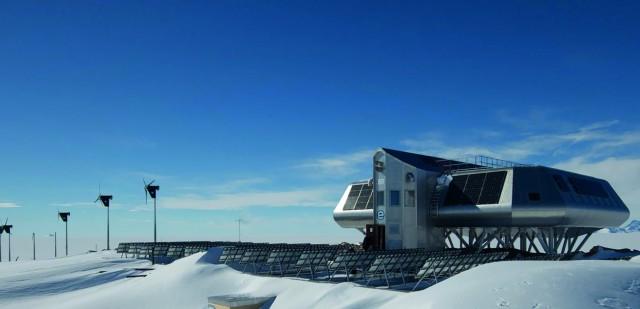 CO2-neutral in der Antarktis forschen