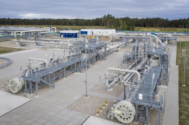Anlandestation für Nord Stream 2 in der Ostsee