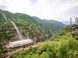 Drittgrößtes Wasserkraftwerk vom Äthiopien